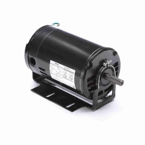 BK1054 Century 1/2 hp 1725 RPM 56 Frame 115/208-230V Belt Drive Cap Start Blower Motor Century # BK1054