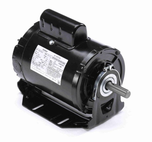 RB1074A Century 3/4 hp 1725 RPM 56 Frame 115/208-230V 50/60 hz Belt Drive Cap Start Blower Motor Century # RB1074A
