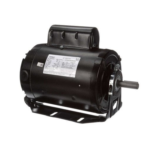 RS1074AL Century 3/4 hp 1725 RPM 56 Frame 115/230V 50/60 hz Belt Drive Cap Start Blower Motor Century # RS1074AL