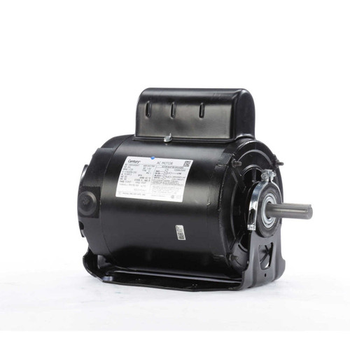 RS1070AV1 Century 3/4 hp 1725 RPM 56 Frame 115/208-230V 50/60 hz Belt Drive Cap Start Blower Motor Century # RS1070AV1