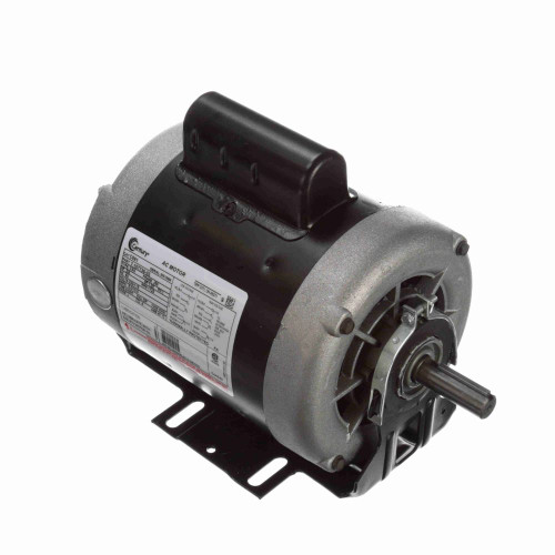 C691 Century 3/4 hp 1725 RPM 56 Frame 115/230V Belt Drive Cap Start Blower Motor Century # C691