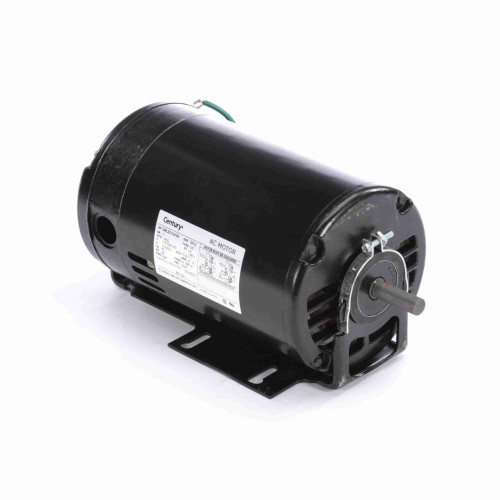 BF1102 Century 1 hp 3450 RPM 48 Frame 115/208-230V Belt Drive Cap Start Blower Motor Century # BF1102