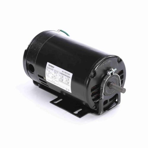 1 hp 3450 RPM 48 Frame 115/208-230V Belt Drive Cap Start Blower Motor Century # BF1102