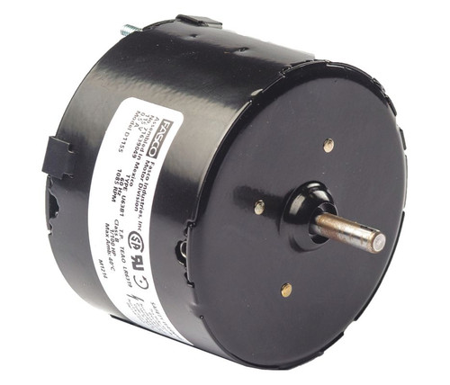 "Fasco D1155 Motor | 1/100 hp 1085 RPM CCW 3.3"" Dia 115V (Thermador Tradewinds)"
