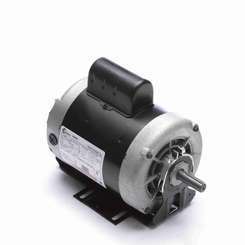 B589 Century 1 hp 3450 RPM 56 Frame 115/208-230V Belt Drive Cap Start Blower Motor Century # B589