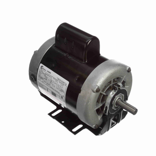 B701 Century 1 hp 3450 RPM 56 Frame 115/208-230V Belt Drive Cap Start Blower Motor Century # B701