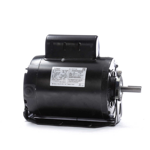 1 hp 1725 RPM 56H Frame 115/208-230V 50/60 hz Belt Drive Cap Start Blower Motor Century # RS1104AV1