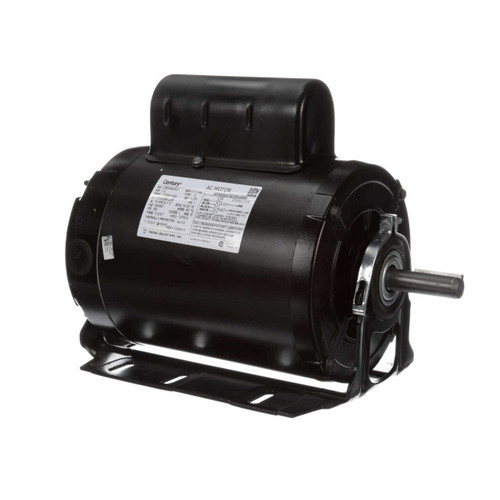 1 hp 1725 RPM 56 Frame 115/208-230V 50/60 hz Belt Drive Cap Start Blower Motor Century # RB1104AV1