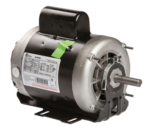 C523V1 Century 1 hp 1725 RPM 56Z Frame 115/208-230V 60 hz Belt Drive Cap Start Blower Motor Century # C523V1
