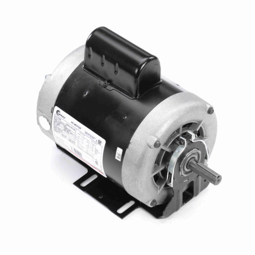 1 hp 1725 RPM 56 Frame 115/230V 60 hz Belt Drive Cap Start Blower Motor Century # C766