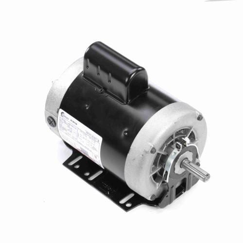 1.5 hp 3450 RPM 56 Frame 115/208-230V 60 hz Belt Drive Cap Start Blower Motor Century # B722L