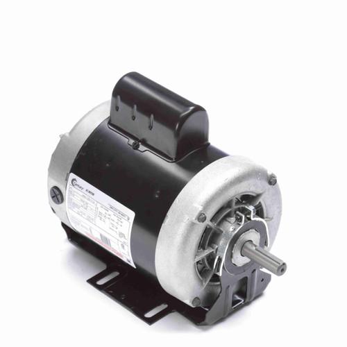 2 hp 3450 RPM 56 Frame 115/208-230V 60 hz Belt Drive Cap Start Blower Motor Century # B837