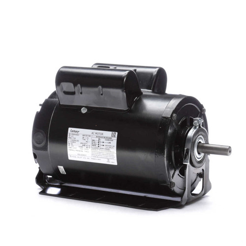 2 hp 1725 RPM 56H Frame 115/208-230V 60 hz Belt Drive Cap Start Blower Motor Century # RB1204AV1