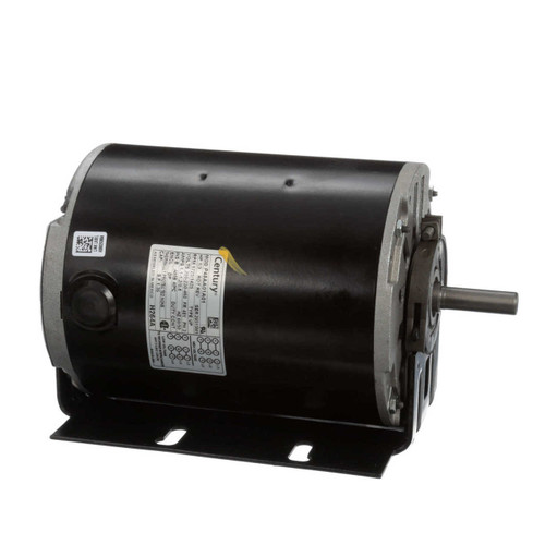 1/3 hp 1725 RPM 48Y Frame 200-230/460V Belt Drive Blower Motor Century # H264A