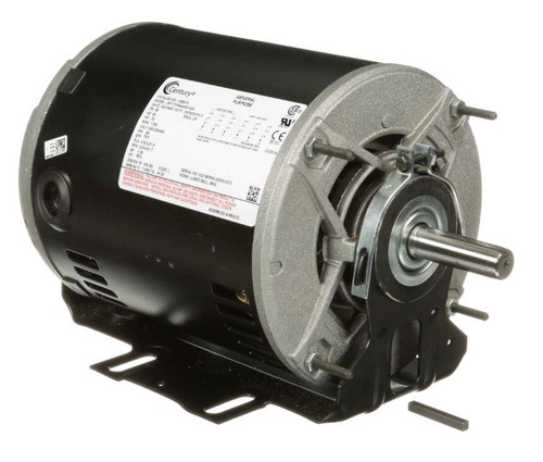 H582V3 Century 3/4 hp 1725 RPM 56 Frame 200-230/460V Belt Drive Blower Motor