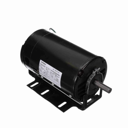 BK3074 Century 3/4 hp 1725 RPM 56H Frame 208-230/460V Belt Drive Blower Motor Century # BK3074