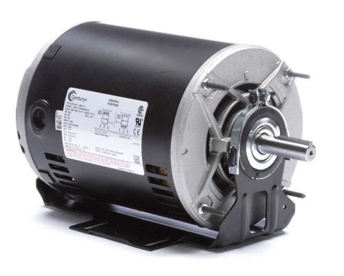 H851V3 Century 3/4 hp 1725 RPM 56 Frame 200-230/460V Belt Drive Blower Motor