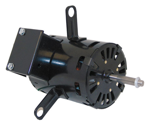 "Fasco D1161 Motor | 1/15 hp 3.3"" Diameter 1600 RPM 2-Speed 115 Volts"