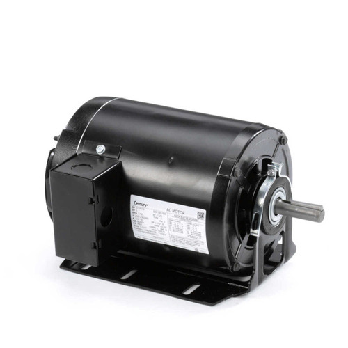 1 hp 1725 RPM 56H Frame 208-230/460V Belt Drive Blower Motor Century # RB3104A