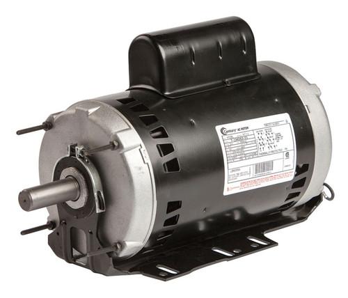 H1039L Century 5 hp 3450 RPM 56HZ Frame 208-230/460V Belt Drive Blower Motor Century # H1039L