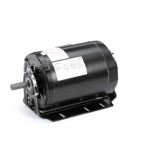 RB3154A Century 1.5 hp 1725 RPM 56H Frame 208-230/460V Belt Drive Blower Motor Century # RB3154A