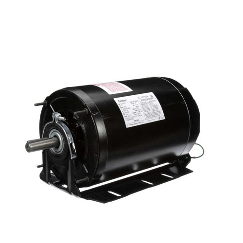 RB3204A Century 2 hp 1725 RPM 56H Frame 208-230/460V Belt Drive Blower Motor Century # RB3204A