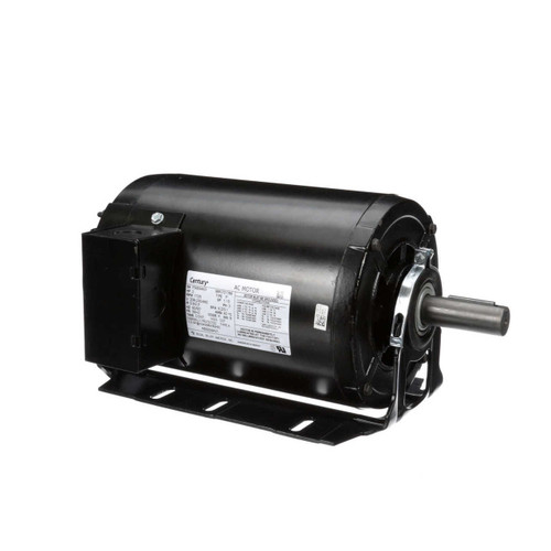 RB3204AV1 Century 2 hp 1725 RPM 56HZ Frame 208-230/460V Belt Drive Blower Motor Century # RB3204AV1