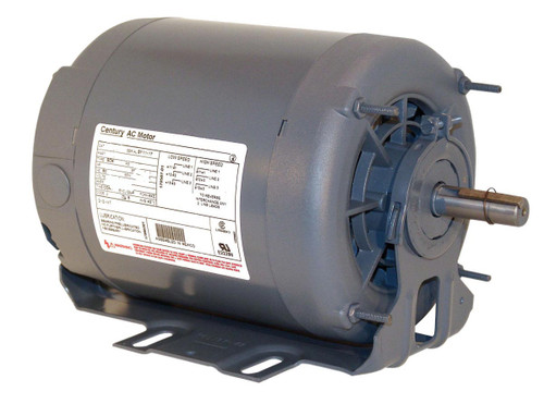 F661 Century 1/4 hp 1725 RPM 56 Frame 115V Split Phase Rigid Base TENV Motor Century # F661