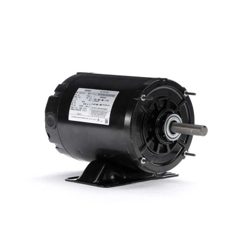 3/4 hp 1725 RPM 56Z Frame 115V Split Phase Rigid Base Motor Century # OS2074