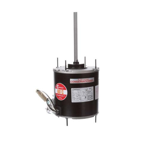 FE1058SU Century 1/2 hp 825 RPM, 80°C, 208-230V HeatMaster Ultra Condenser Motor Century # FE1058SU