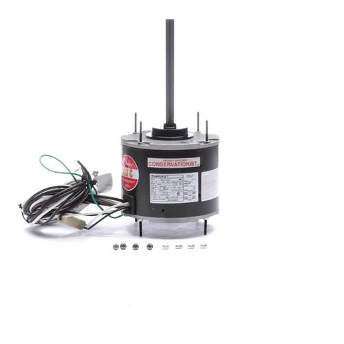 1/4 hp 1075 RPM, 80°C, 208-230V HeatMaster Ultra Condenser Motor Century # FE1026SU