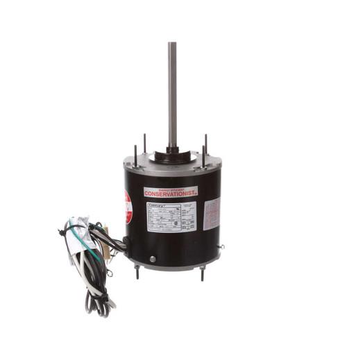 3/4 hp 1075 RPM, 80°C, 208-230V HeatMaster Ultra Condenser Motor Century # FE1076SU