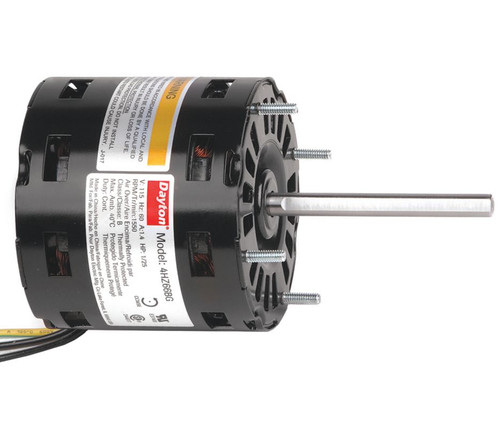 4HZ66 Dayton 1/25 HP Direct Drive Blower Motor 1550 RPM, 1-Spd 115V