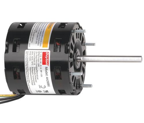 1/25 HP Direct Drive Blower Motor 1550 RPM, 1-Spd 115V Dayton # 4HZ66