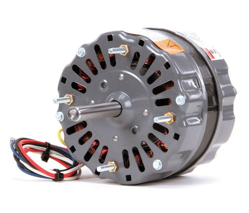 4YU34 Dayton 1/8 HP Direct Drive Blower Motor 1550 RPM, 3-Spd 115V