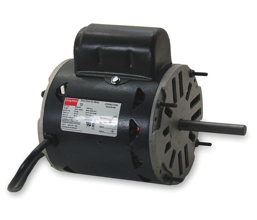 4HZ60 Dayton 1/6 HP Direct Drive Blower Motor 1650 RPM 115V