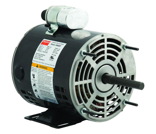 1/4 HP Direct Drive Blower Motor 1725 RPM 115V Dayton # 4YU27