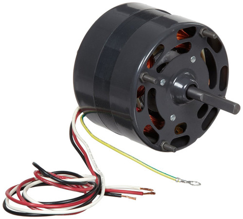 "Fasco D118 Motor | 1/15 hp 1500 RPM 2-Speed CW 4.4"" Diameter 115 Volts"