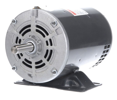 Model 4YU38 Century 1 hp Belt Drive Blower 3 Phase Motor 1725 RPM 208-230/460V Dayton 4YU38
