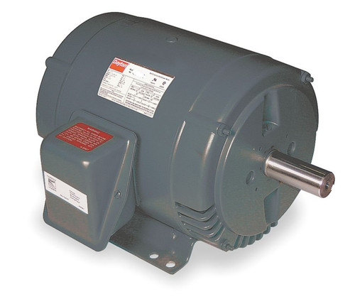 3 hp Belt Drive Blower 3 Phase Motor 1725 RPM 182T 208-230/460V Dayton 6XWJ0