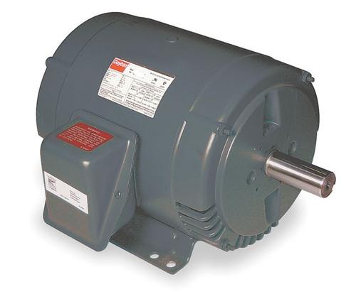 3 hp Belt Drive Blower 3 Phase Motor 1725 RPM 182T 208-230/460V Dayton 6XWJ0