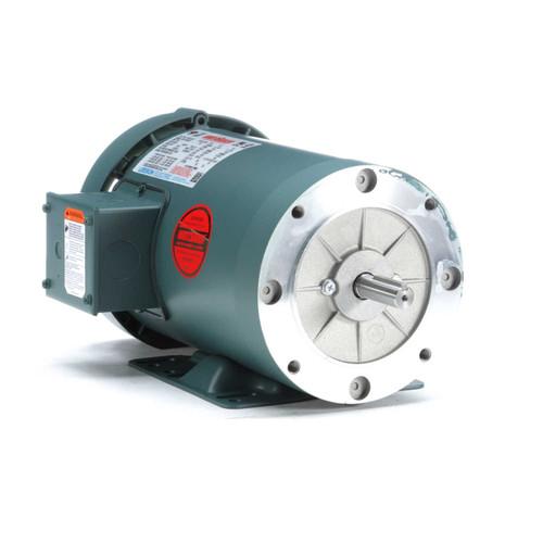116747.00 Leeson |  2 hp 1800 RPM 56HC Frame TEFC C-Face (Rigid Base) 230/460V