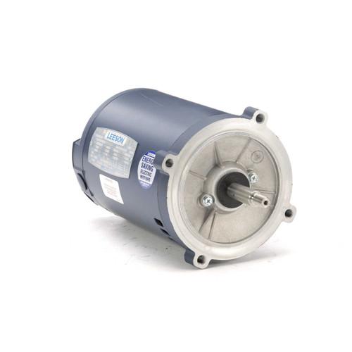 1 hp 3600 RPM 56J Frame ODP C-Face (No Base) 230/460V Leeson Electric Motor # 101638