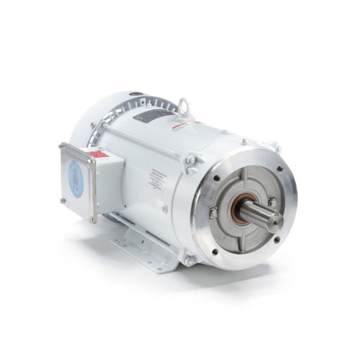 140823.00 Leeson |  10 hp 3600 RPM 215TC Frame TEFC 230/460V Wash Down Duty