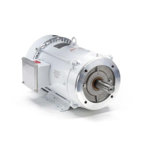 141120.00 Leeson |  7.5 hp 3600 RPM 213TC Frame TEFC 230/460V Wash Down Duty