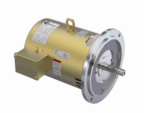 R232M2A Century Purex 7.5 hp 3450 RPM 184TY Frame 208-230/460V Three Phase Century Pump Motor # R232