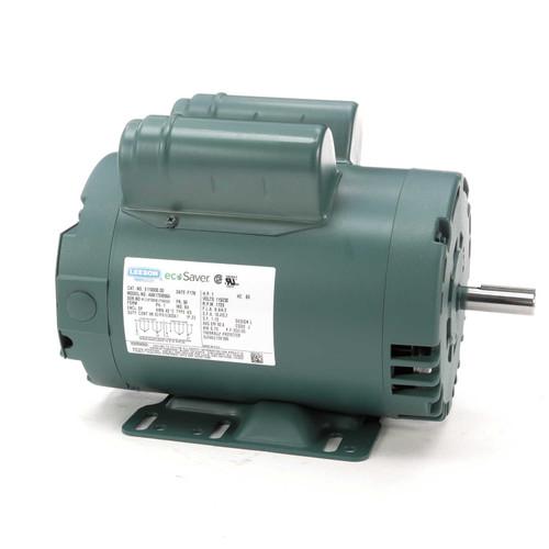 1 hp 1725 RPM 56 Frame 115/208-230V Open Drip Leeson Electric Motor # E110000