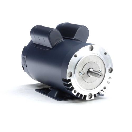 5 hp 3600 RPM 56HC Frame ODP C-Face (rigid base) 230V Leeson Electric Motor # 116709