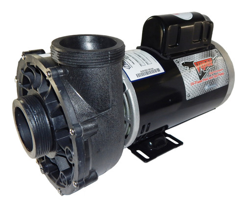 3722021-0V Waterway |  5HP Viper Spa Pump Side Discharge |2-Speed, 56 Frame Executive
