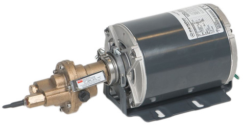 "41TK27 Rotary Gear Bronze Pumps - Carbonator Mount - with 1/2hp motor 3/8"" port size Bronze"